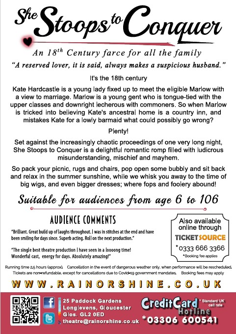 She Stoops to Conquer Leaflet P2